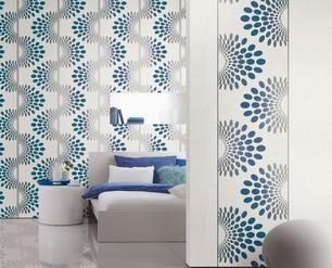 Exklusive innenraumgestaltung maler robert lenhart for Farbige rauhfasertapeten